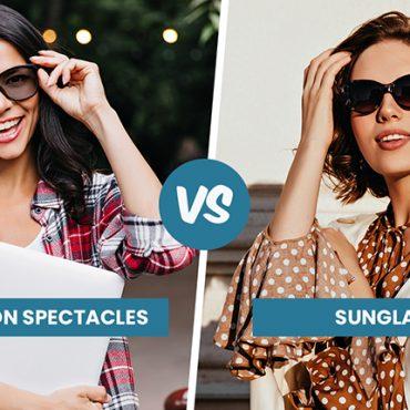Transition Spectacles Vs Sunglasses Singapore