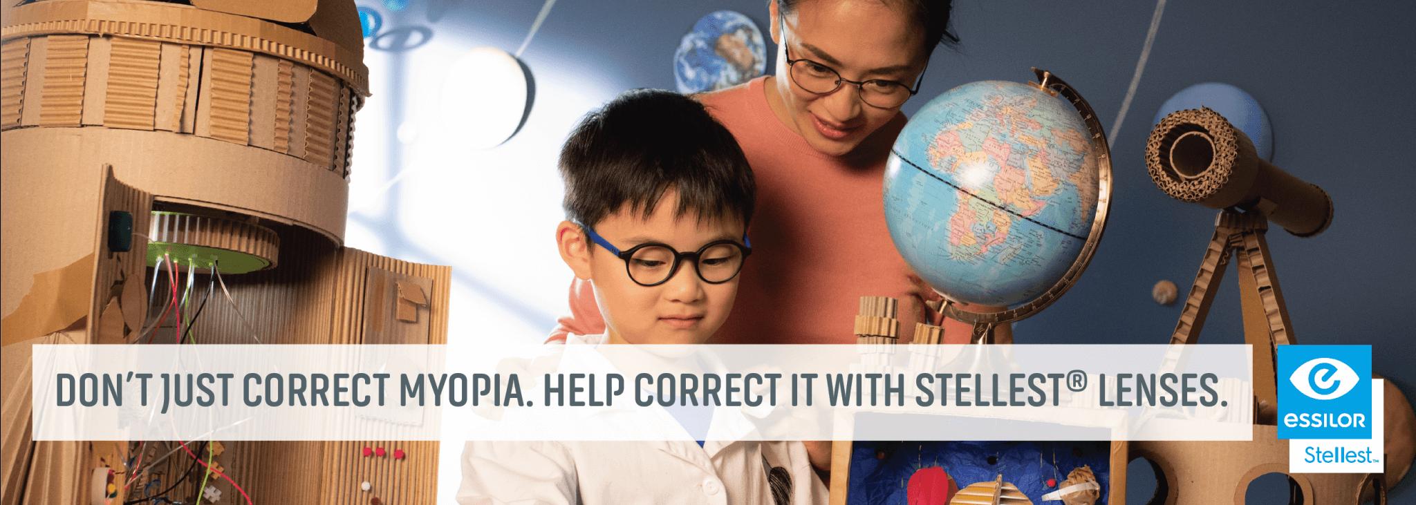 Correct Myopia With Stellest Lenses